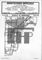 Map Image 010, Chippewa County 1986 Published by Farm and Home Publishers, LTD